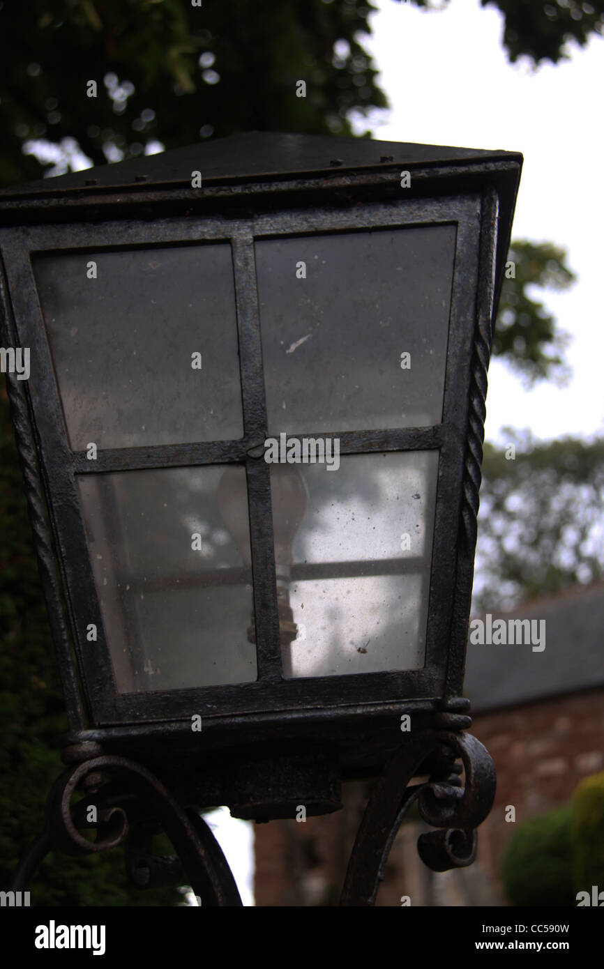 Iron Lamp - Stock Image