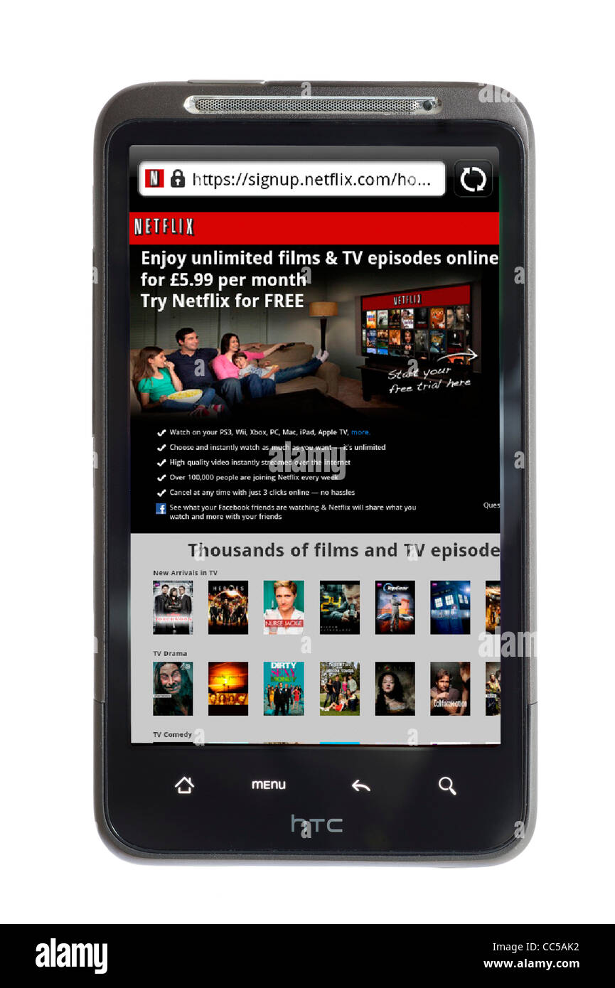 how to connect netflix from smartphone to tv