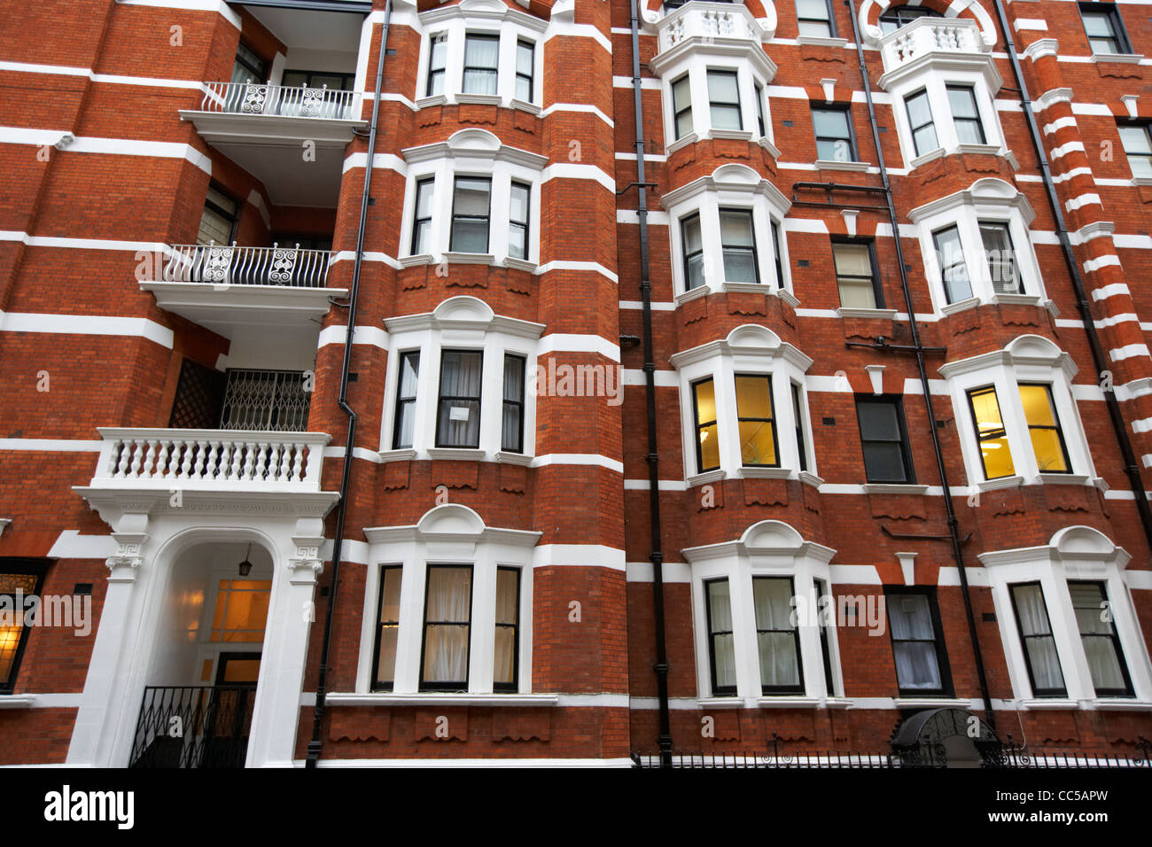 basil street kensington and chelsea London England UK United kingdom - Stock Image