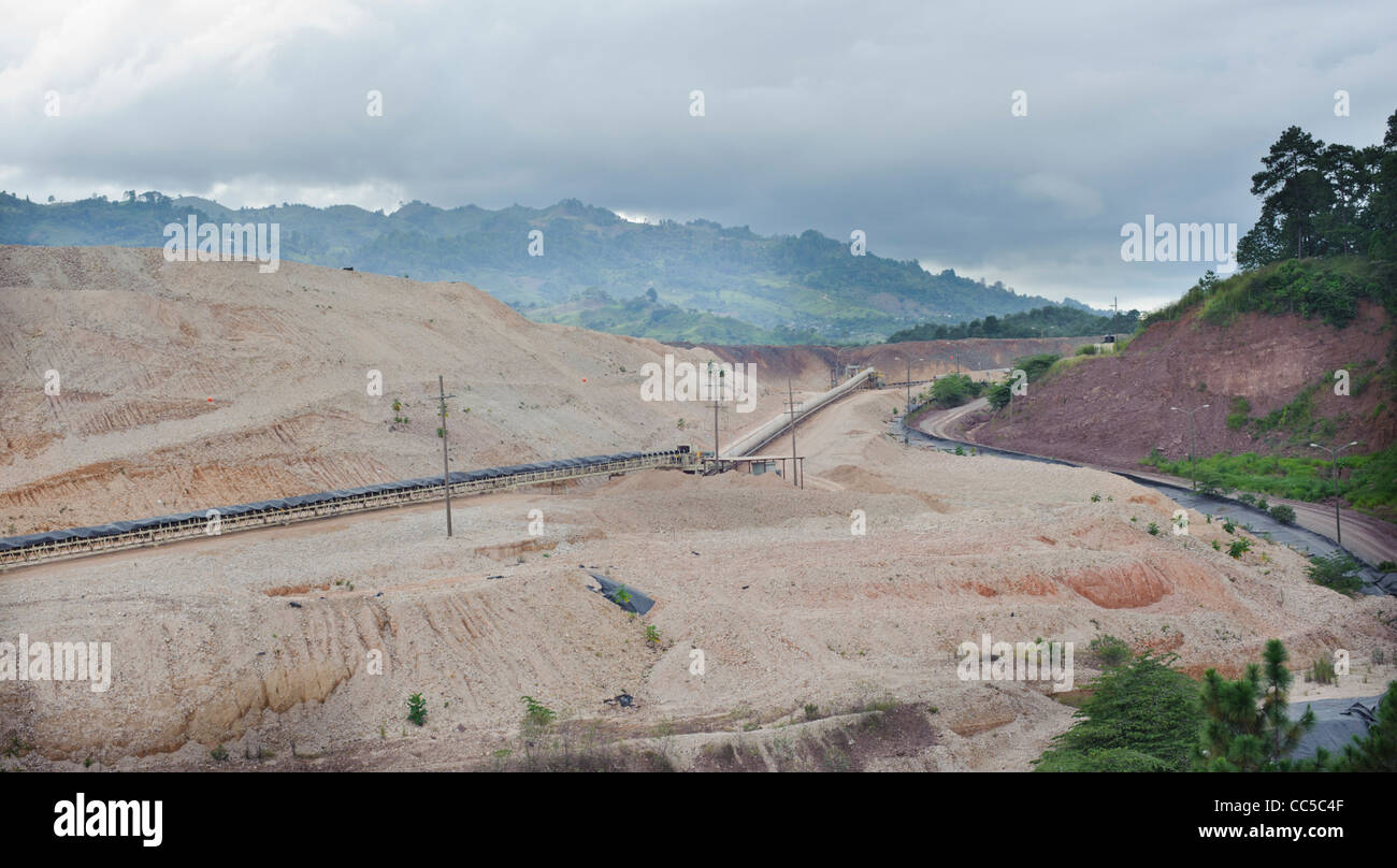 san andres Aura Mineral gold mine - Stock Image