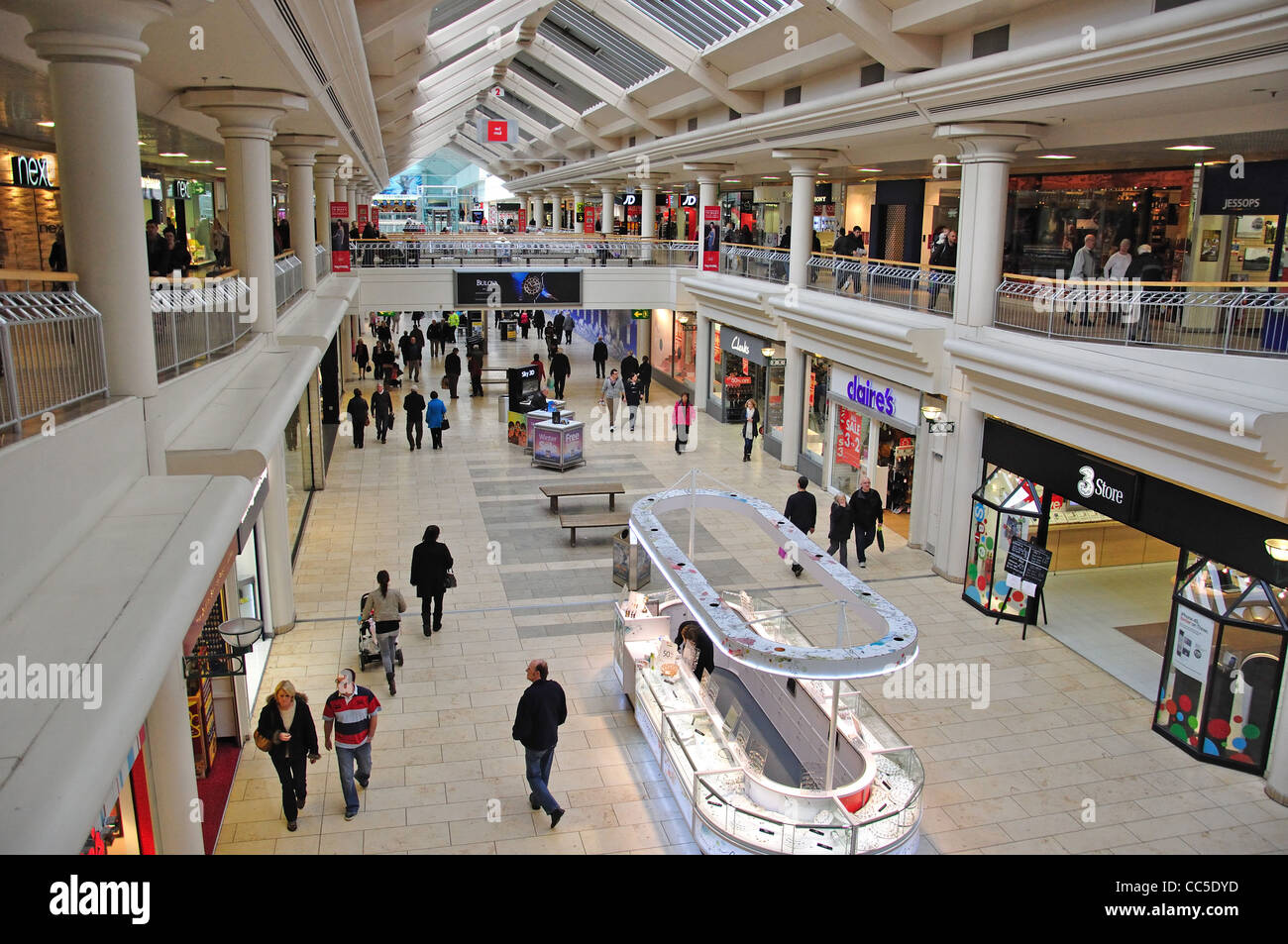 Interior of Metro Shopping Centre, Gateshead, Tyne and Wear, England, United Kingdom - Stock Image
