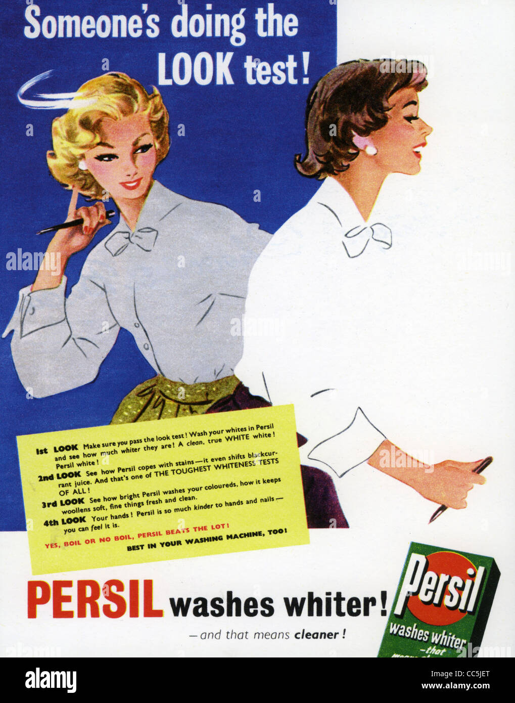 Persil Advert 1950s High Resolution Stock Photography and Images - Alamy