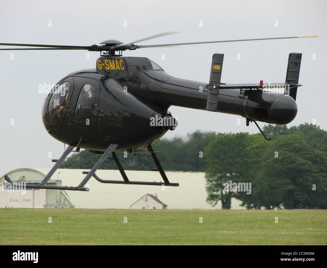 MD500N (G-SMAC, built 1992) at Kemble Airfield, Gloucestershire, England. - Stock Image