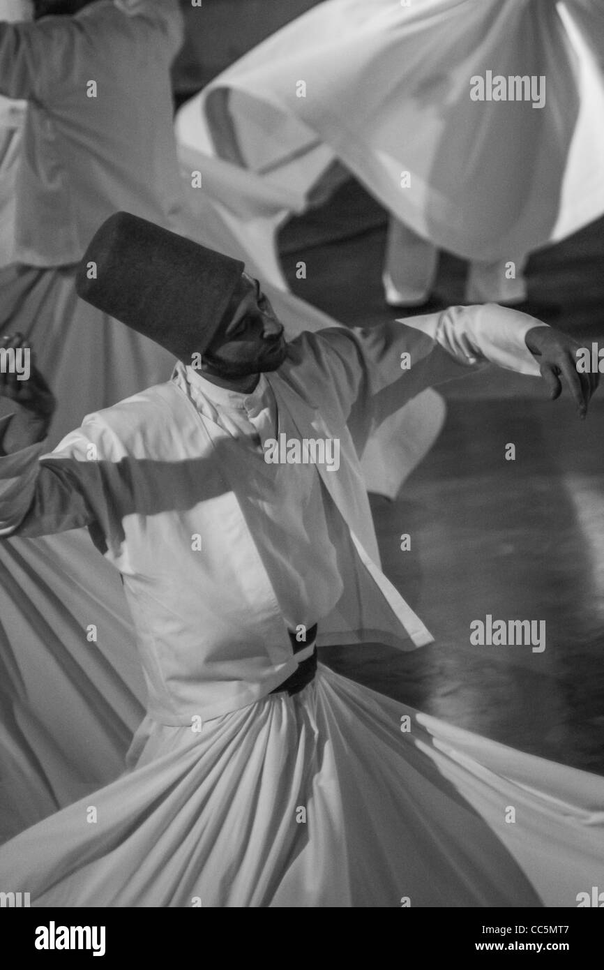 Whirling Dervishes, Konya - Stock Image