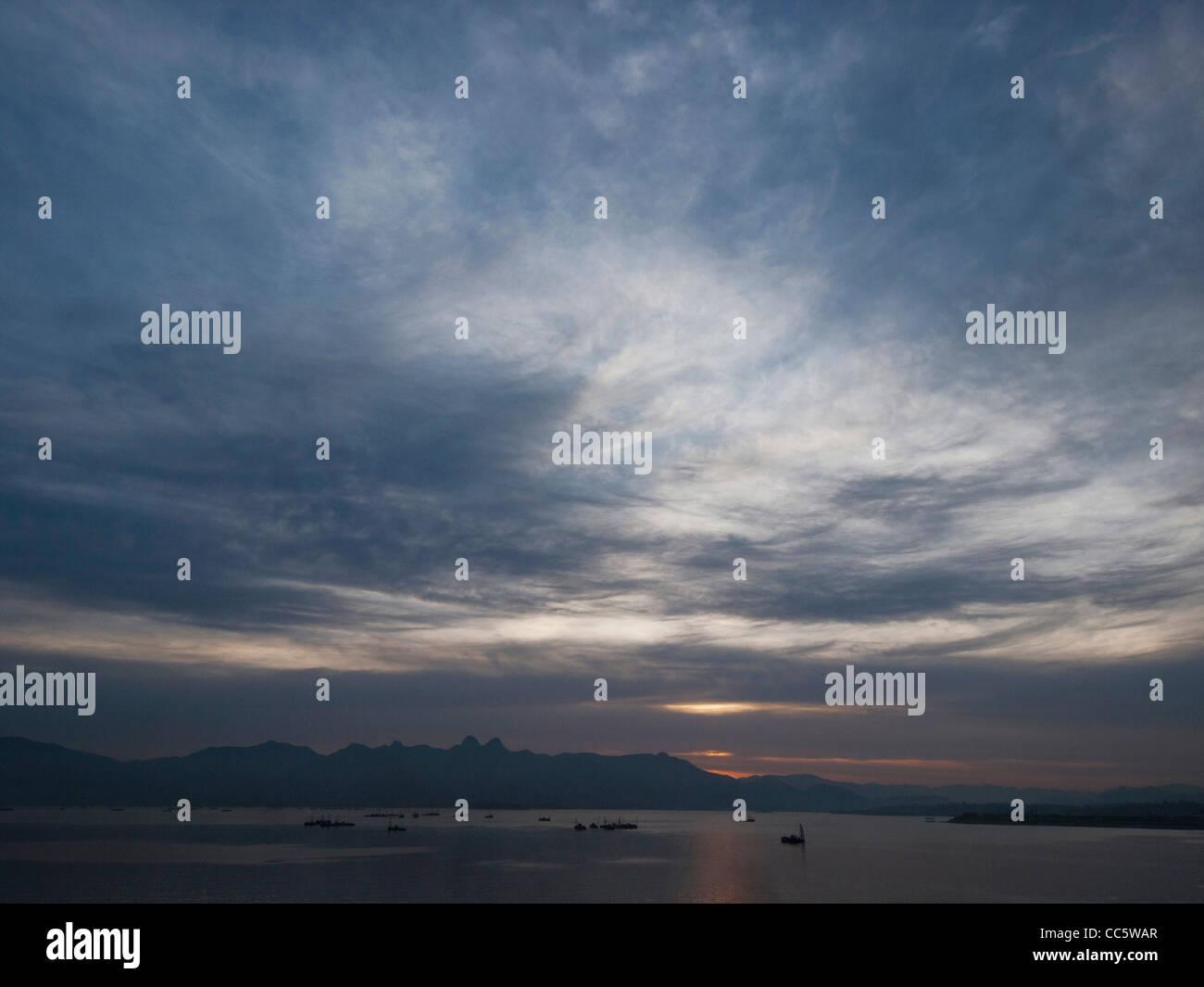 East China Sea, Qingdao, Shandong , China - Stock Image