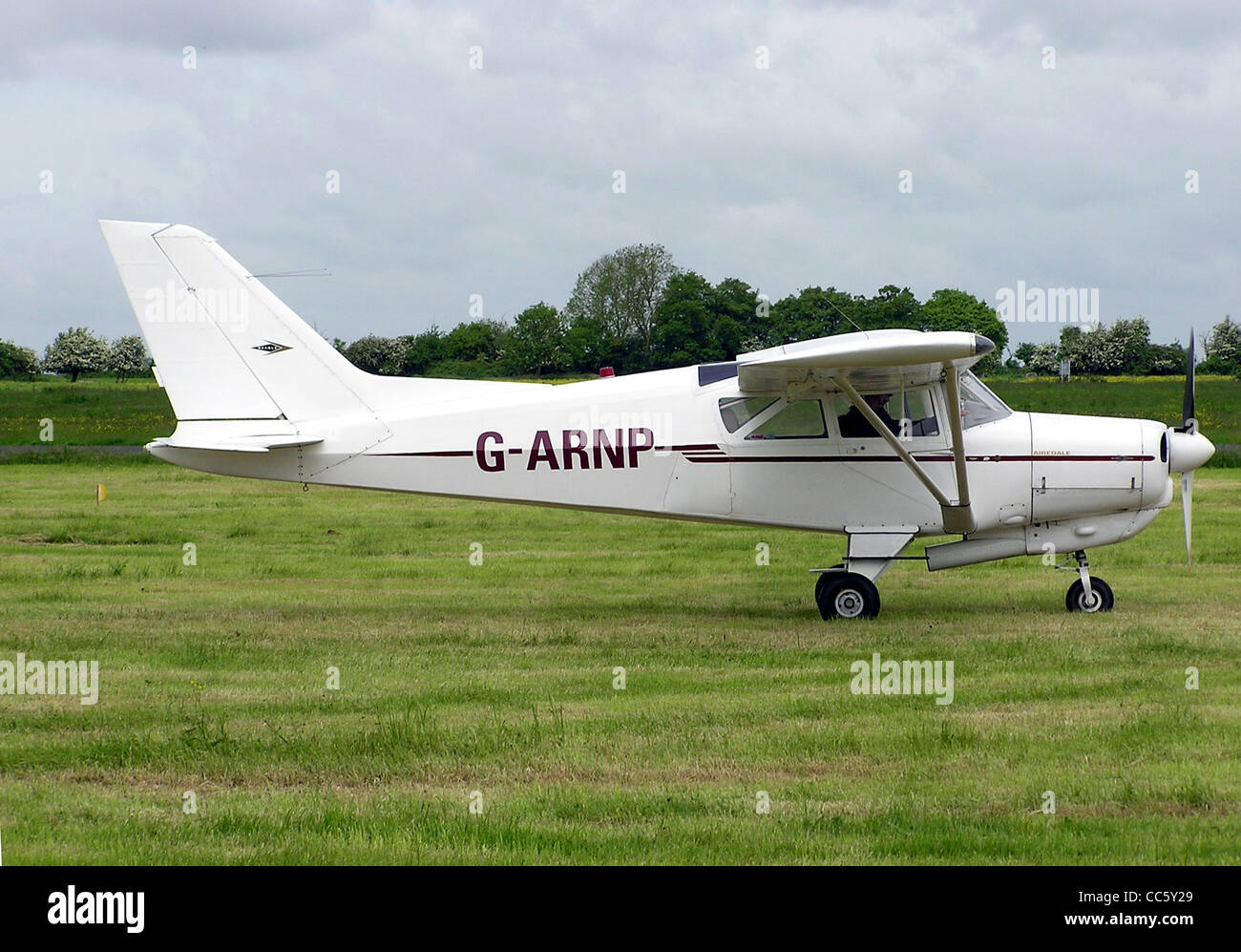Beagle A.109 Airedale, UK registration G-ARNP, at Keevil Airfield, Wiltshire, England. - Stock Image