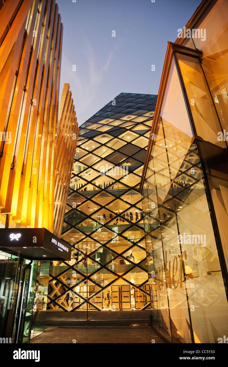 f35eb37023b2 Japan, Tokyo, Aoyama, Prada Store, Architect Herzog & De Meuron - Stock