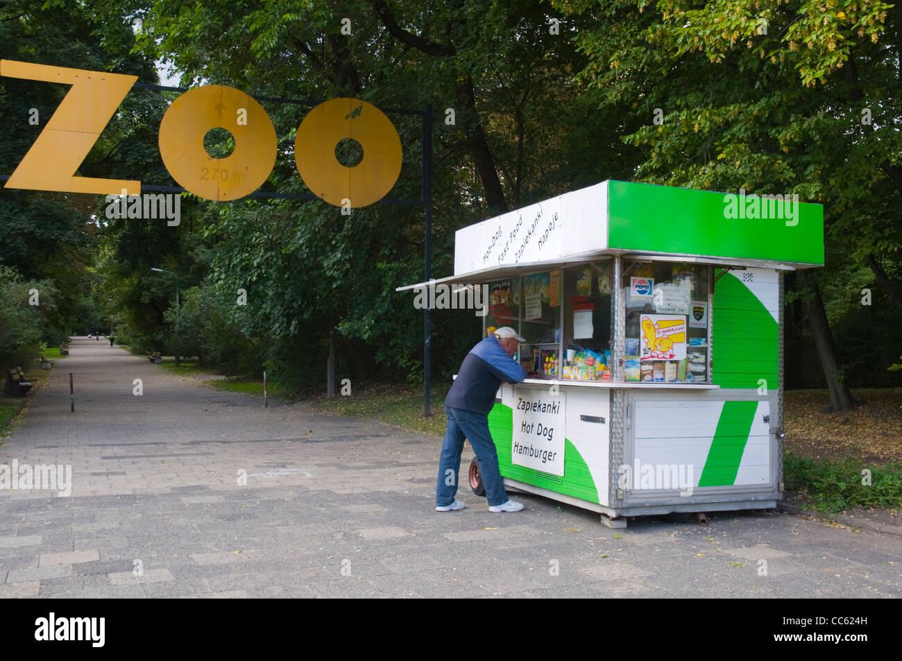 Park Praski in Praga district Warsaw Poland Europe - Stock Image