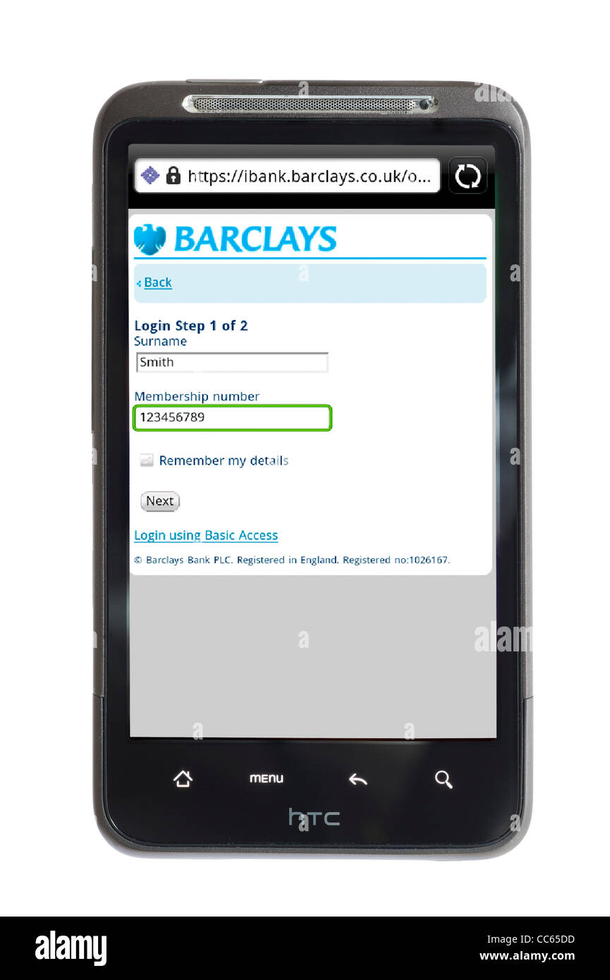barclays online stock photos barclays online stock images alamy rh alamy com iBank Review Barclays iBank