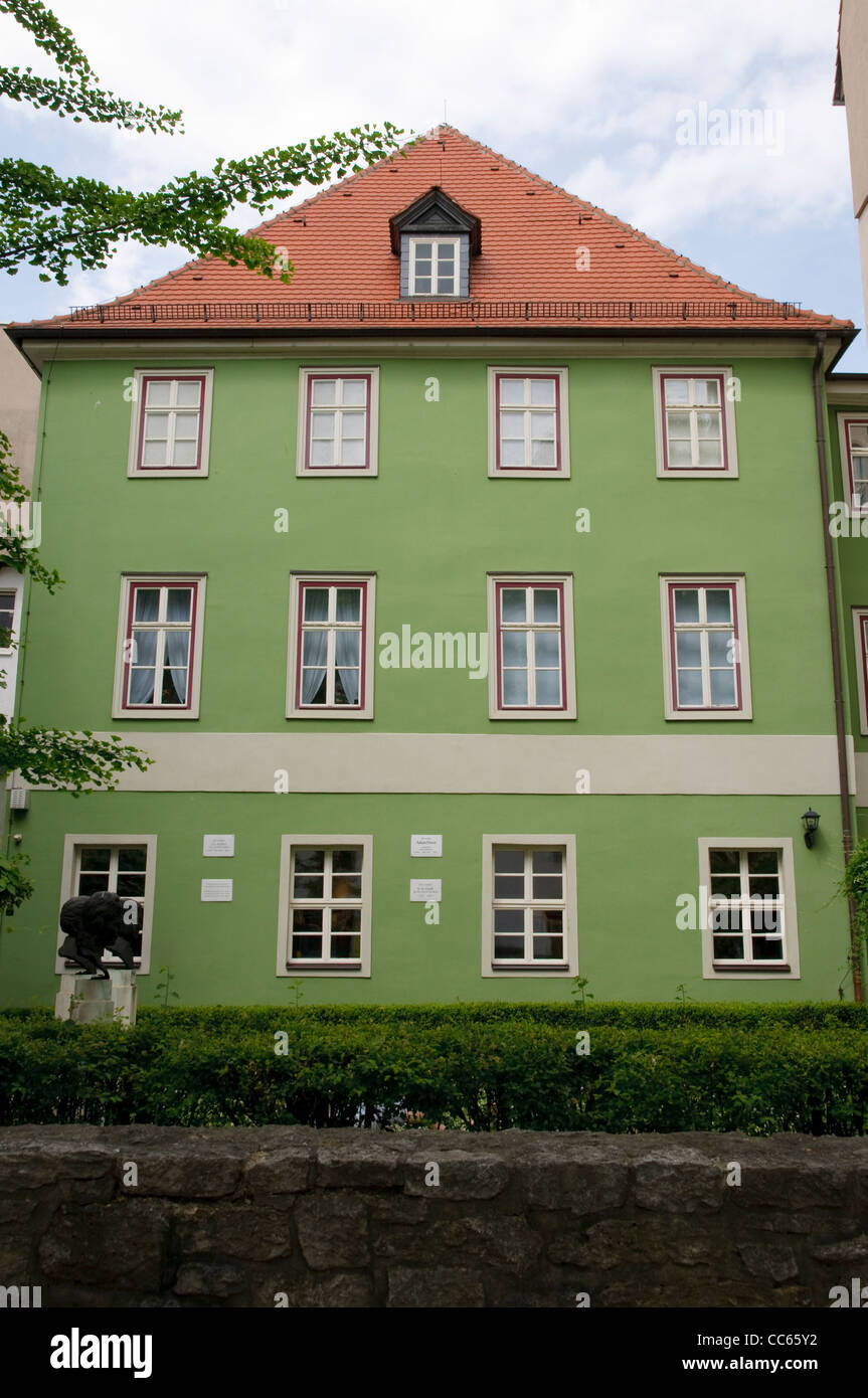 Frommannsches Haus House Jena Thuringia Germany Europe Stock