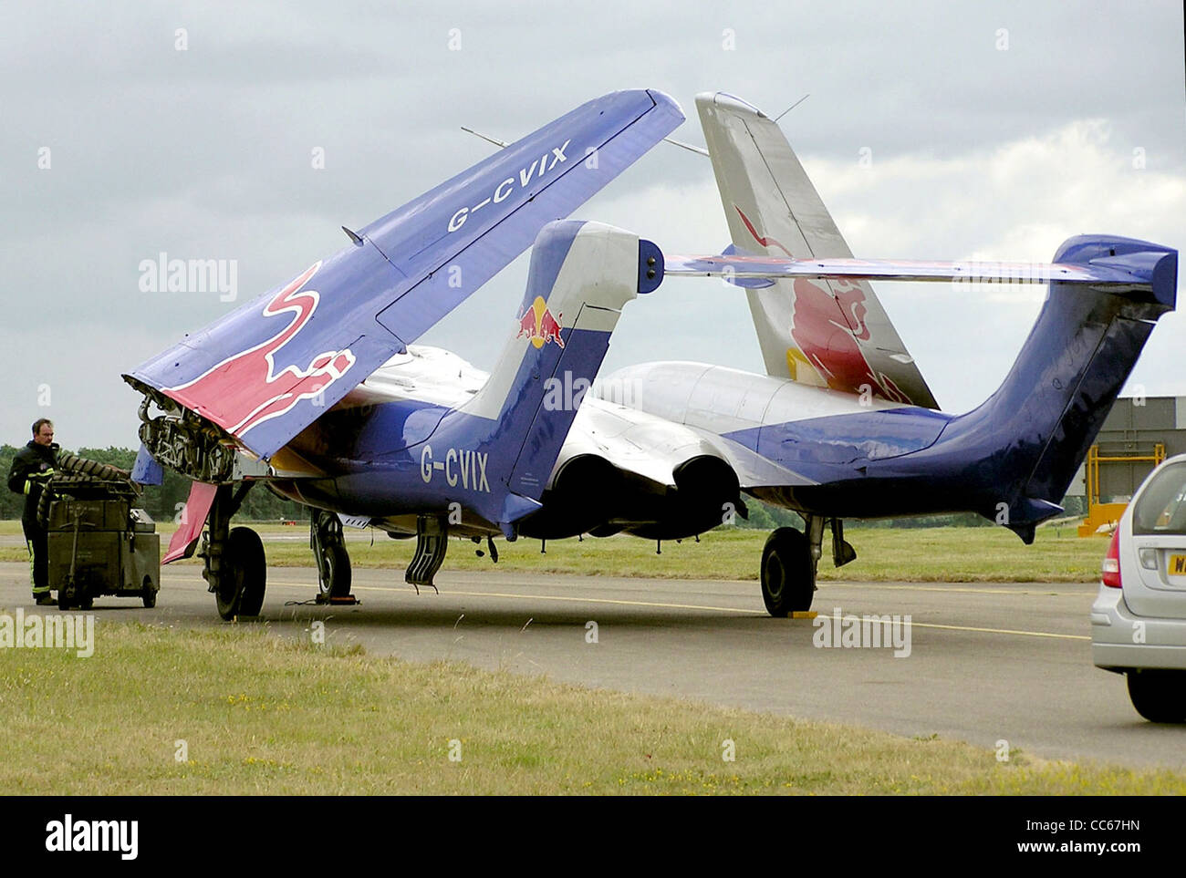 de Havilland dH-110 Sea Vixen D3, formerly of the Royal Navy as XP924 Stock Photo