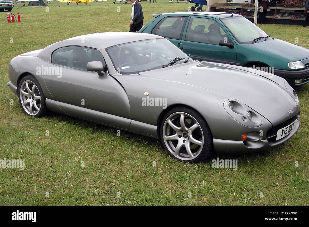 TVR Cerbera, seen at Kemble Airfield, Gloucestershire, England. - Stock Image