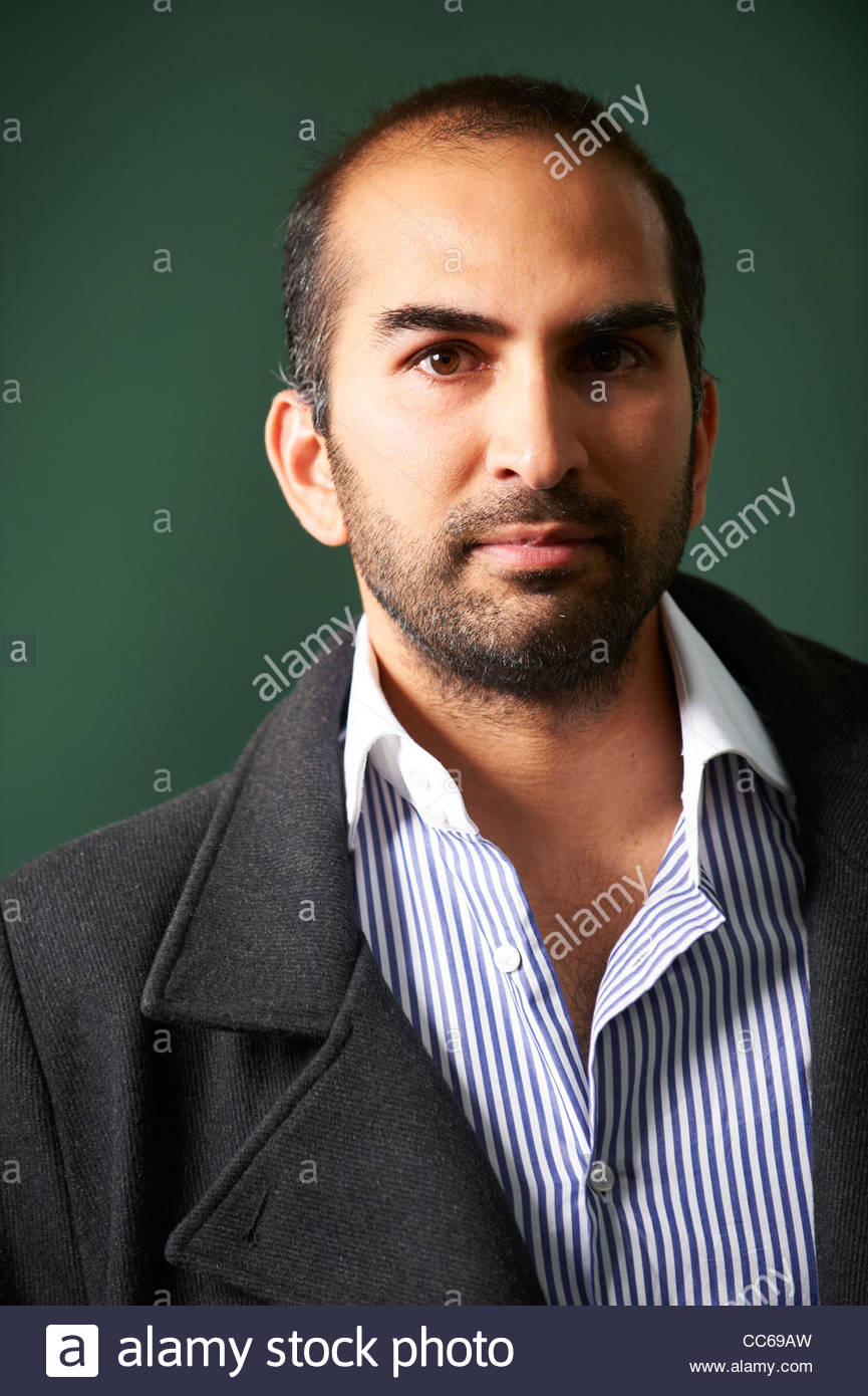 Shiv Malik , Journalist and broadcaster at The Edinburgh International Book Festival 2011. Credit Geraint Lewis - Stock Image