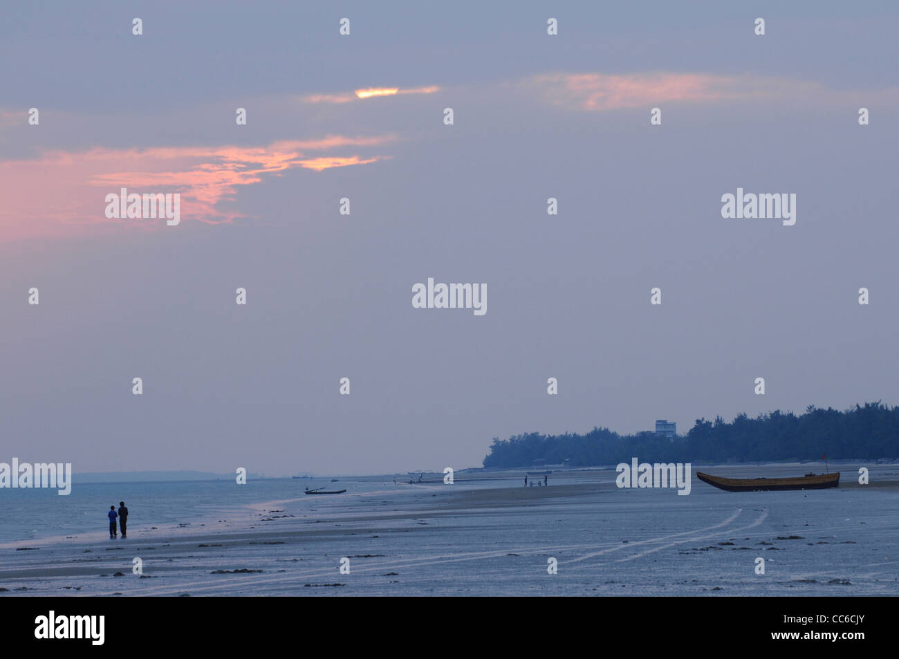 Sandybeach, Three Islands of Jing, Fangchenggang, Guangxi , China - Stock Image