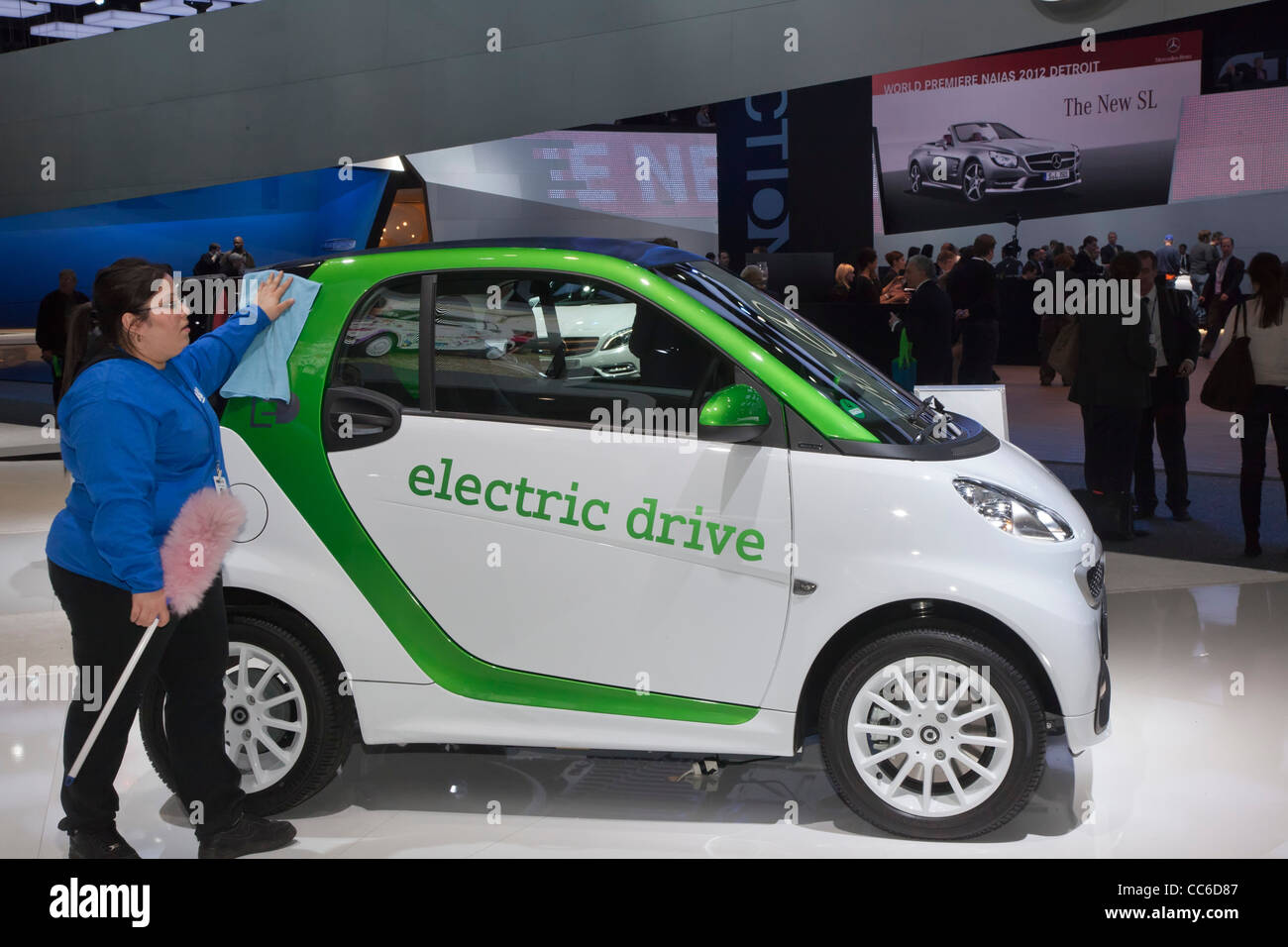 Seater Smart Car With C Symbol