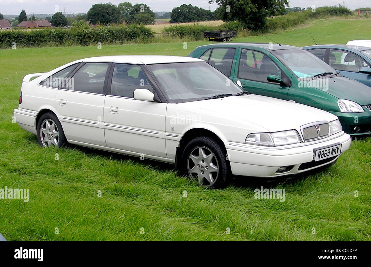 1997 Rover 800 at Coalpit Heath Car Show, near Bristol, England. - Stock Image