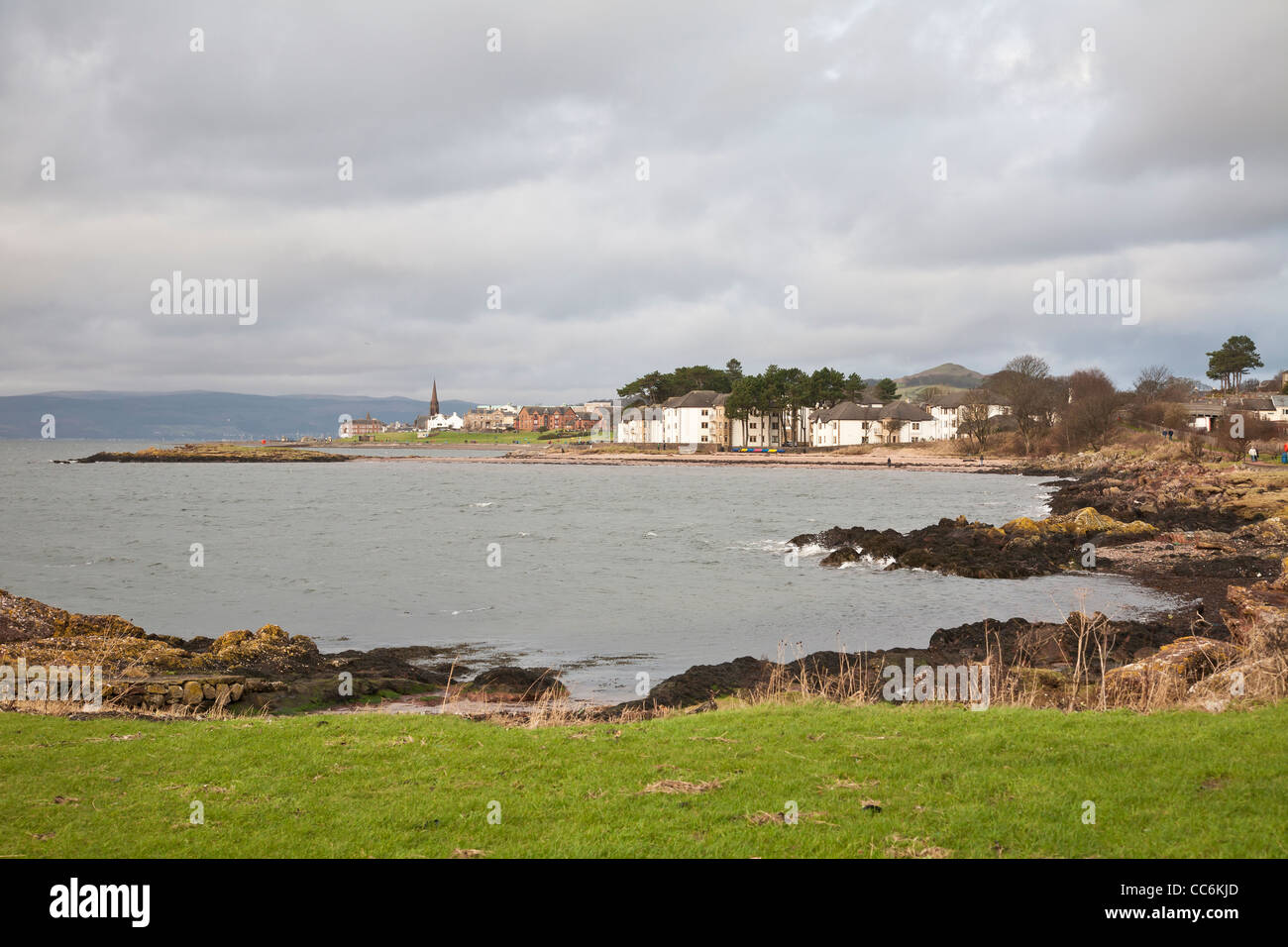 Largs, Firth of Clyde, Ayrshire - Stock Image
