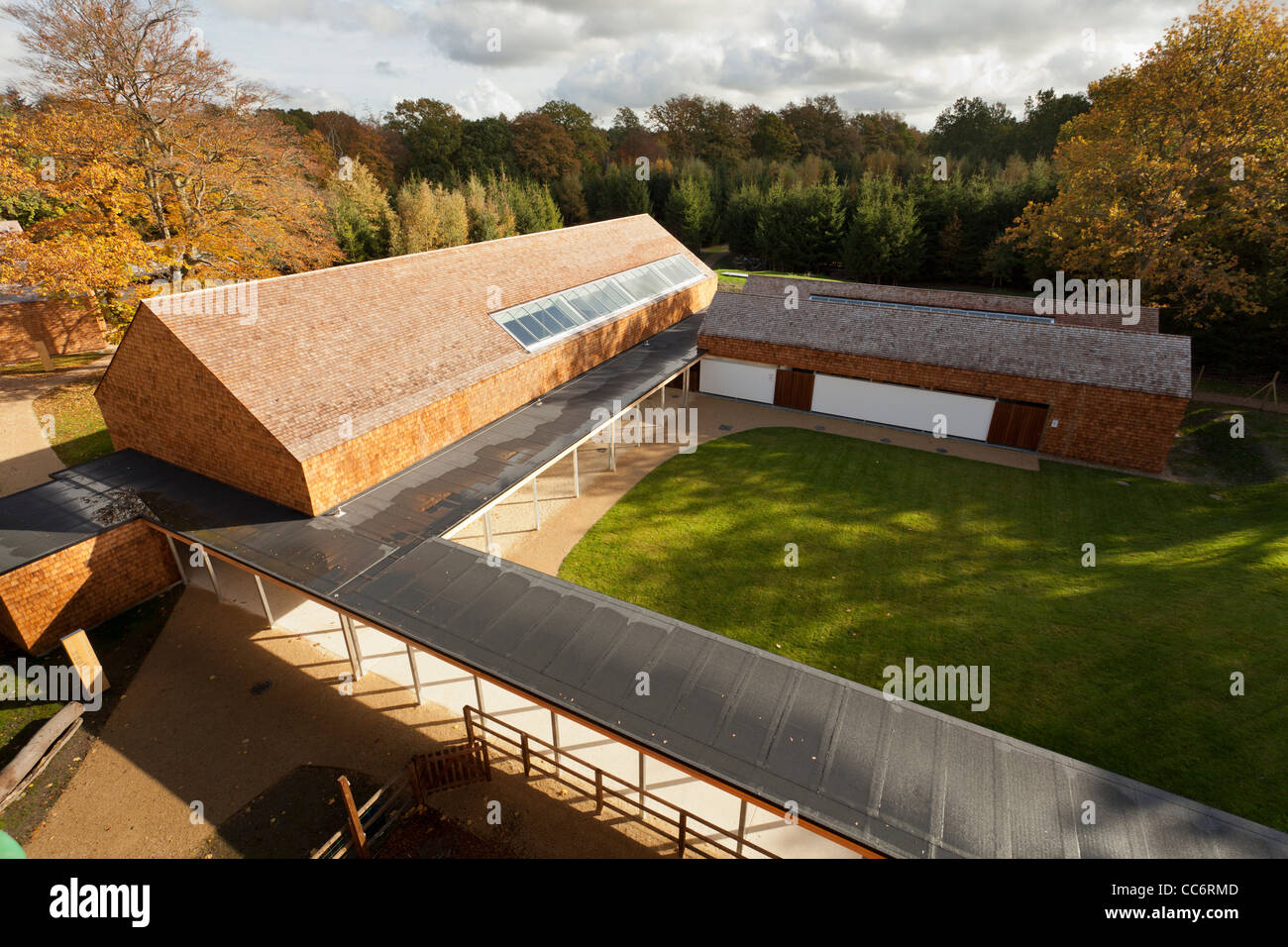 Runways End Outdoor Activity Centre, Farnborough - Stock Image