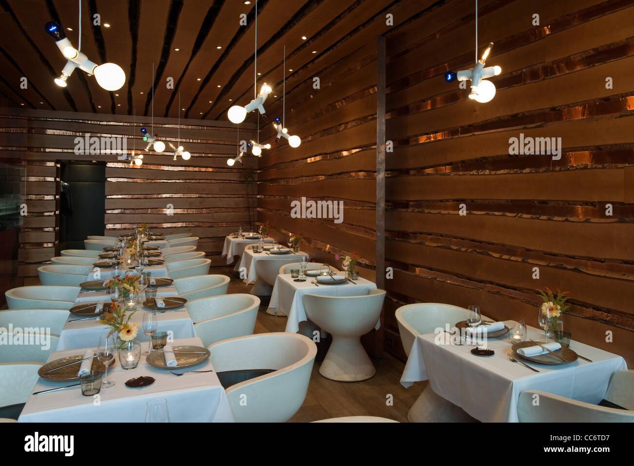 """Österrreich, Wien 9, Lustkandlgasse 4, """"Kim kocht"""" asiatisch kreative Küche auf höchstem Niveau. Stock Photo"""
