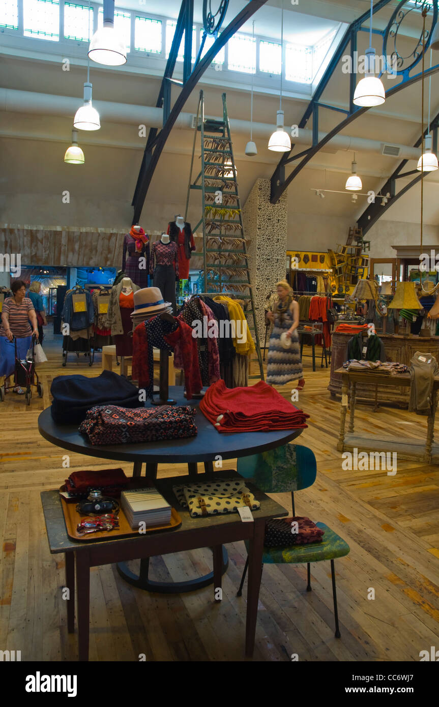 b2c7c8580d84 Anthropologie fashion shop interior King's Road in Chelsea borough London  England UK Europe