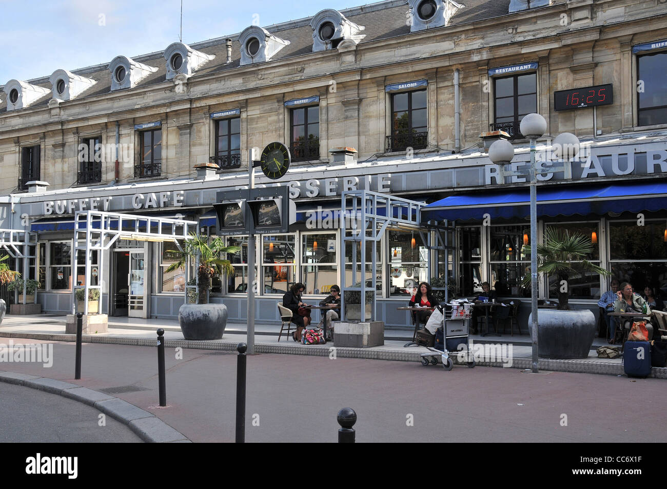 Austerlitz railway station Paris France - Stock Image