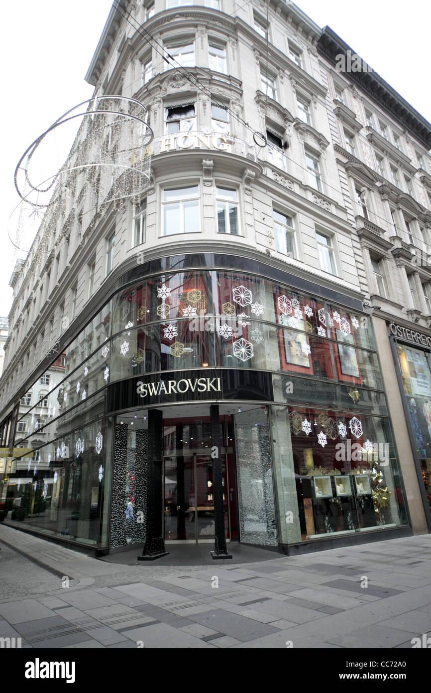 82eab282c8be SWAROVSKI SHOP KARNTNER STRASSE VIENNA AUSTRIA 26 December 2011 ...