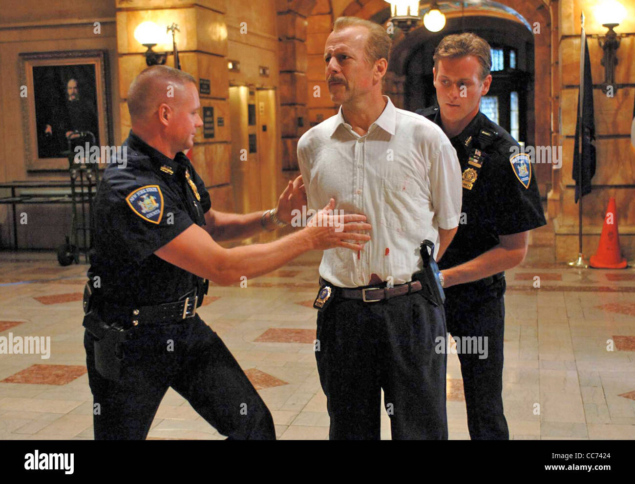 16 BLOCKS  2006 Alcon Films production with Bruce Willis - Stock Image