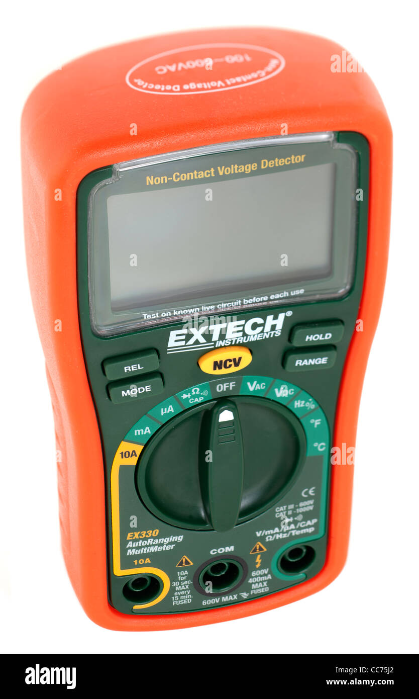 Extech ex330 multimeter - Stock Image