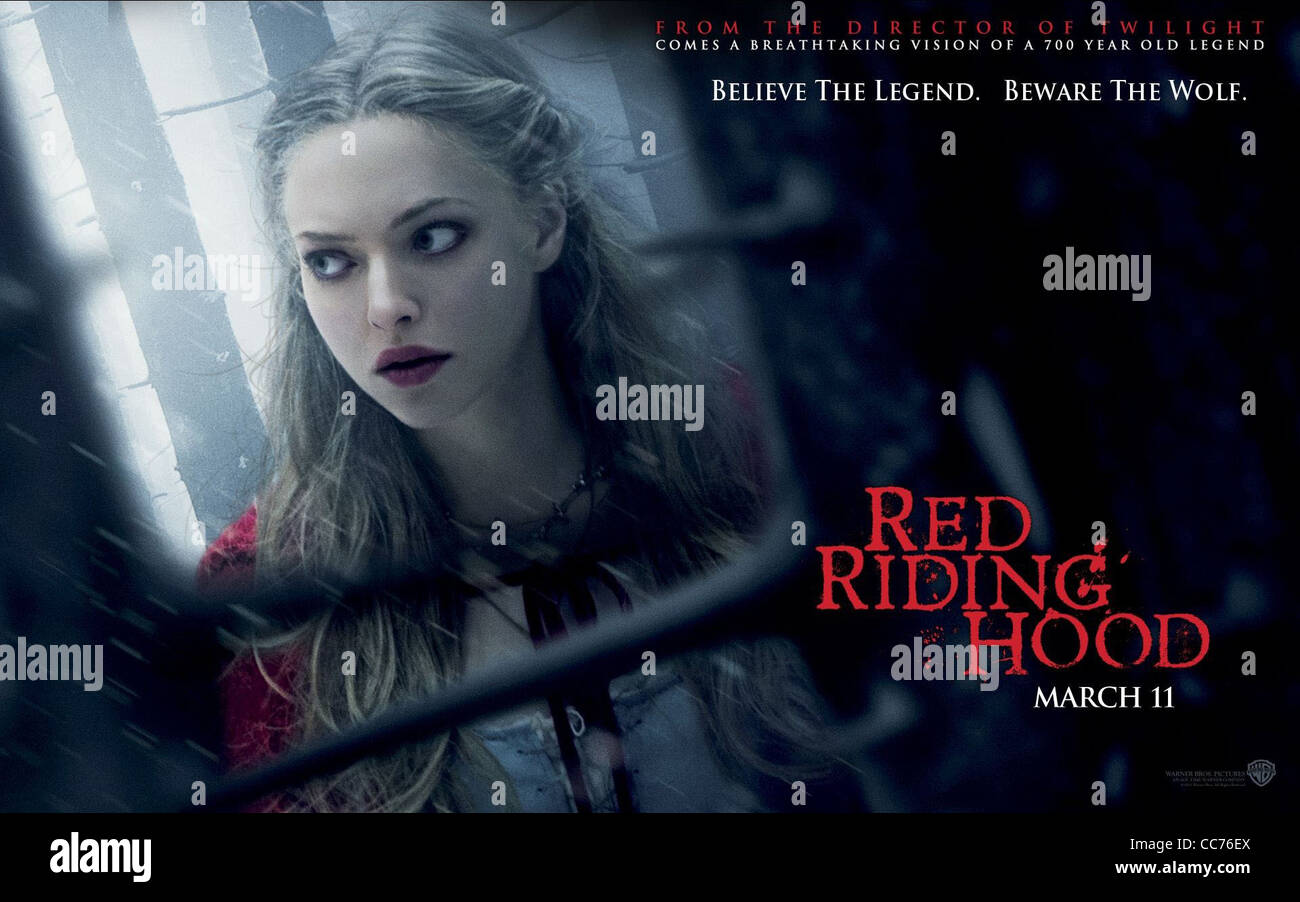POSTER Red Riding Hood Movie Poster Amanda Seyfried
