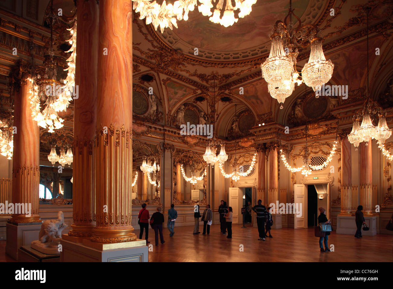 France Paris Salle Des Fetes Festival Hall In The Upper Floor Of Musee Dorsay Orsay Museum
