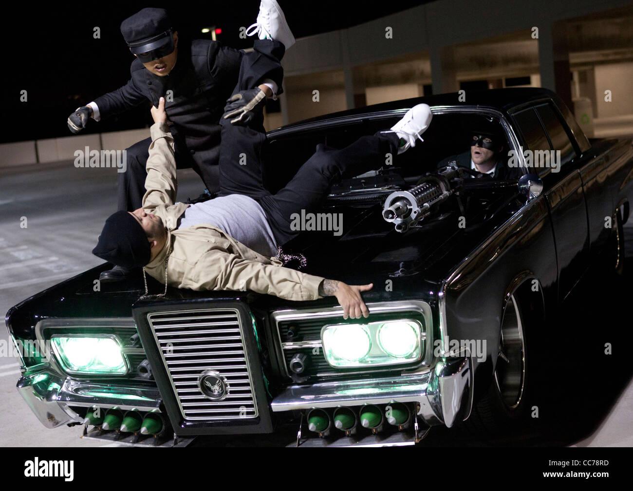 Jay Chou Seth Rogen The Green Hornet 2011 Stock Photo Alamy