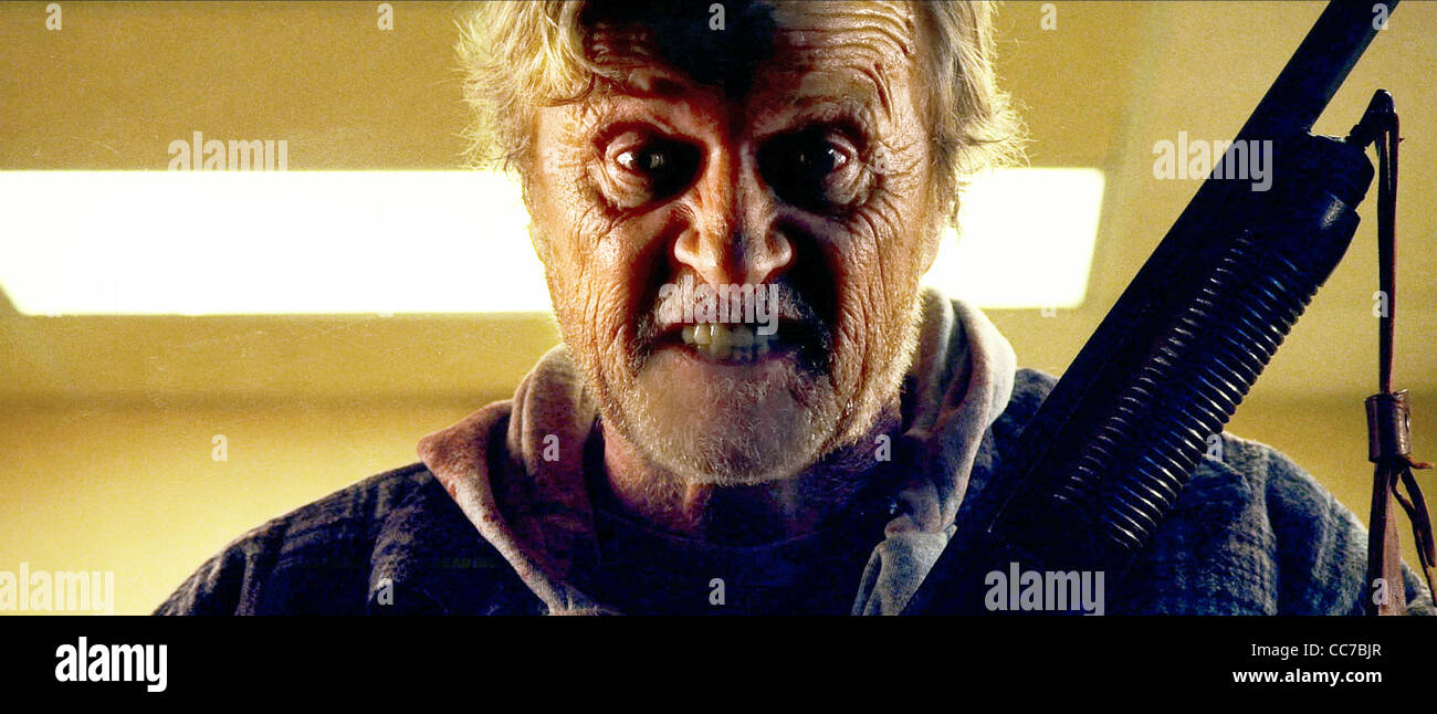 RUTGER HAUER HOBO WITH A SHOTGUN (2011) - Stock Image