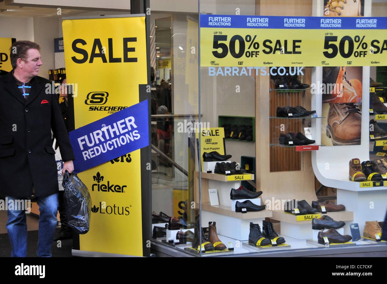 Barratts Shoe Shop High Resolution