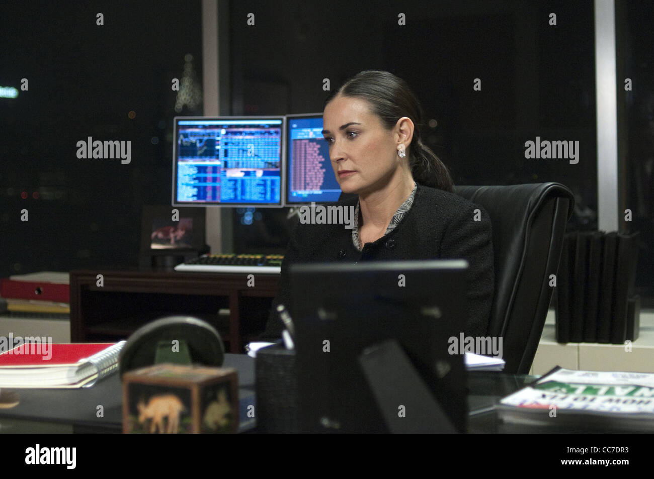 DEMI MOORE MARGIN CALL (2011) - Stock Image