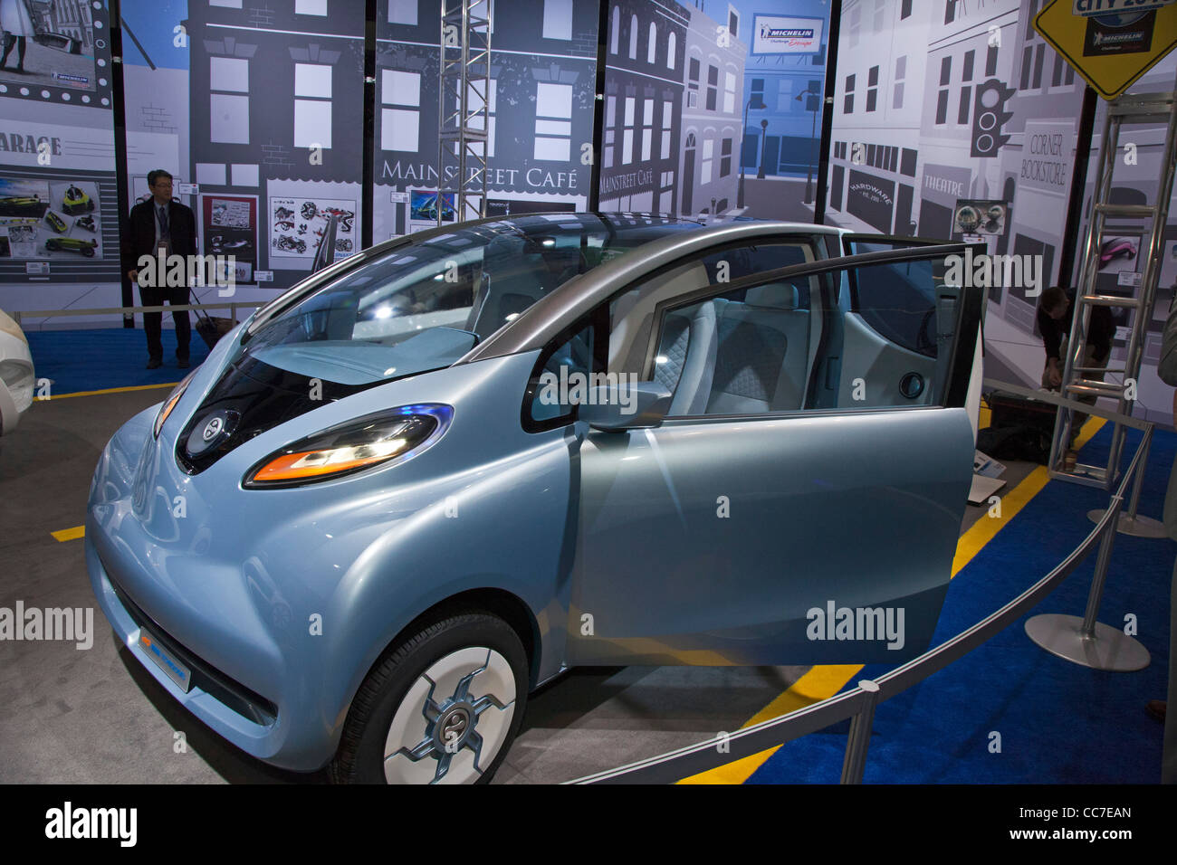 Tata Technologies' electric mobility concept vehicle (eMO) - Stock Image