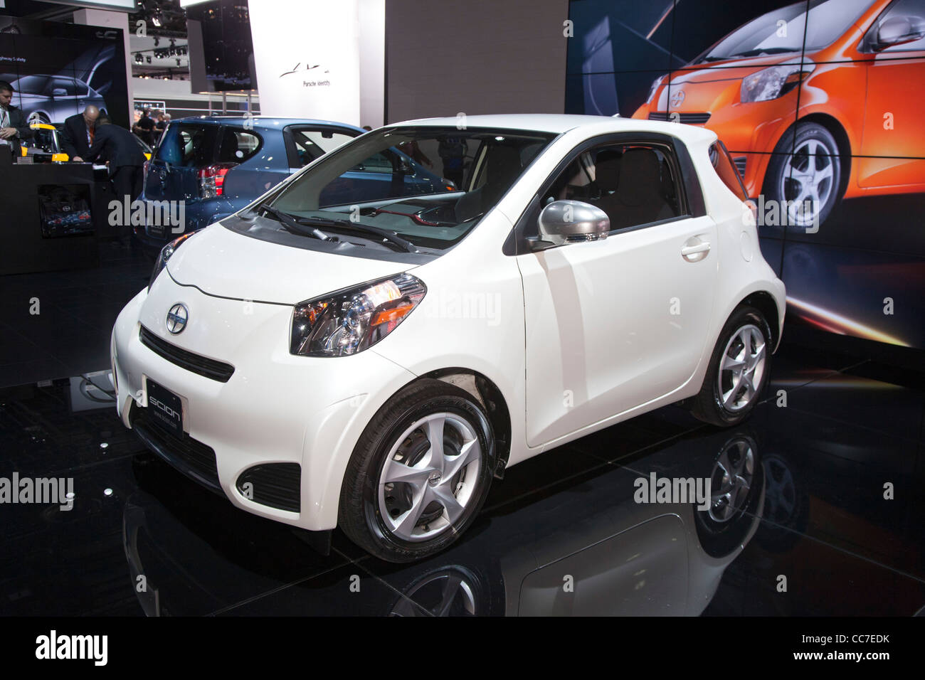Detroit, Michigan - The 2012 Scion IQ on display at the North American International Auto Show. - Stock Image