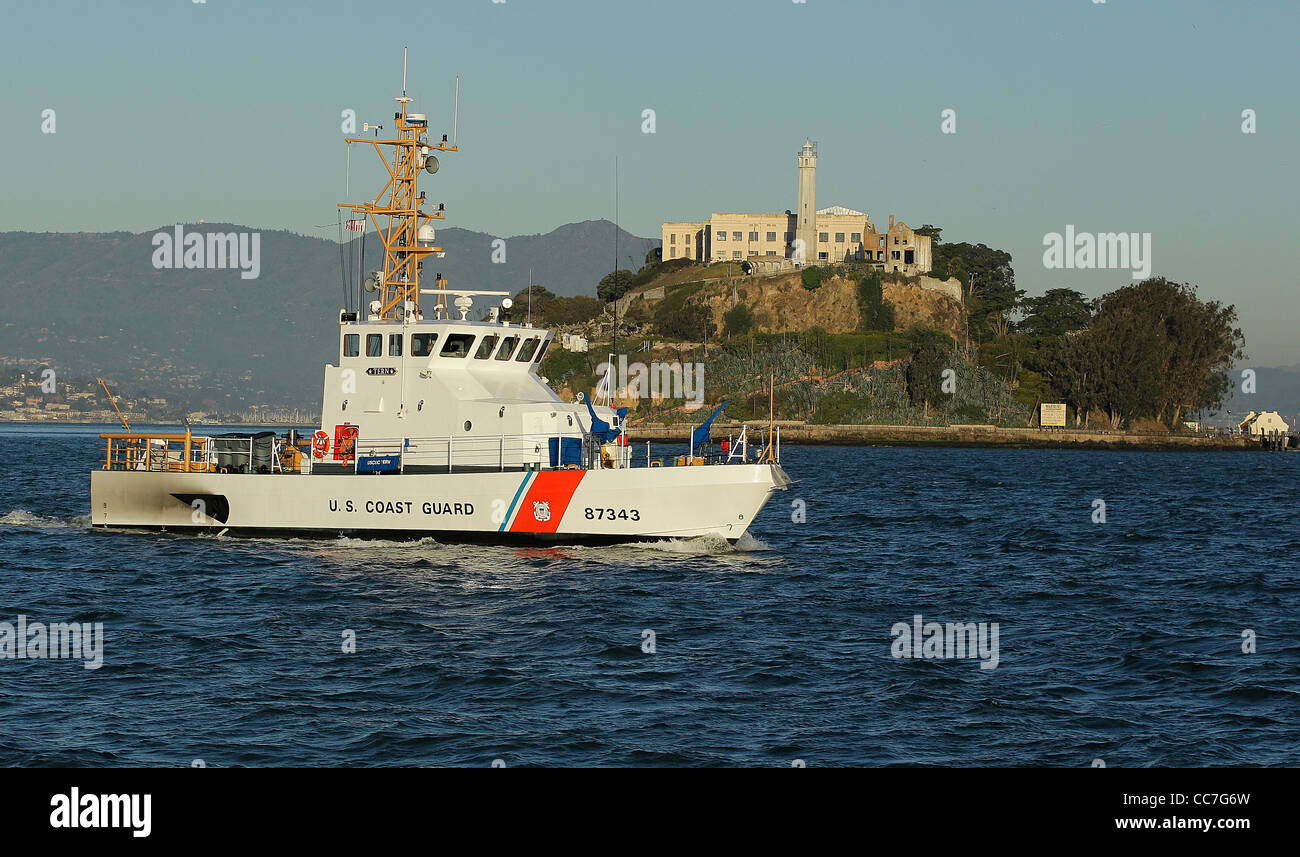 USCGC TERN WPB-87343 US COAST GUARD CUTTER RESCUE - Stock Image