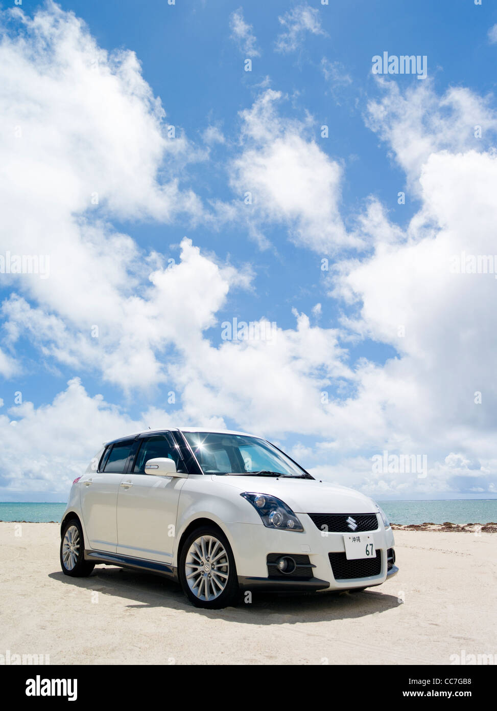 Suzuki Swift Sport Japanese Hatchback ZC31S - Stock Image