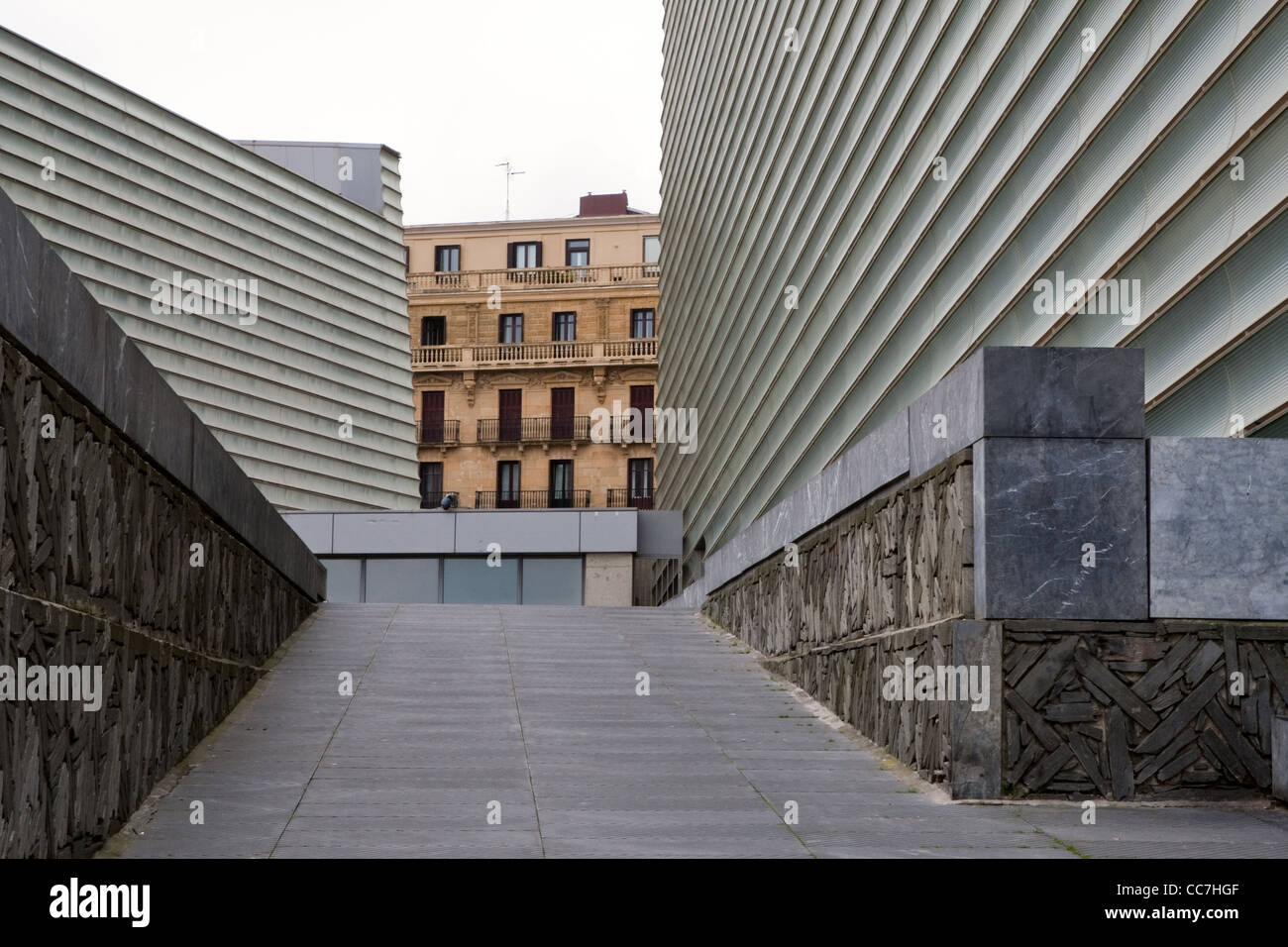 Kursaal Conference Centre (Palais de Congres) Donostia - San Sebastian Spain - Stock Image