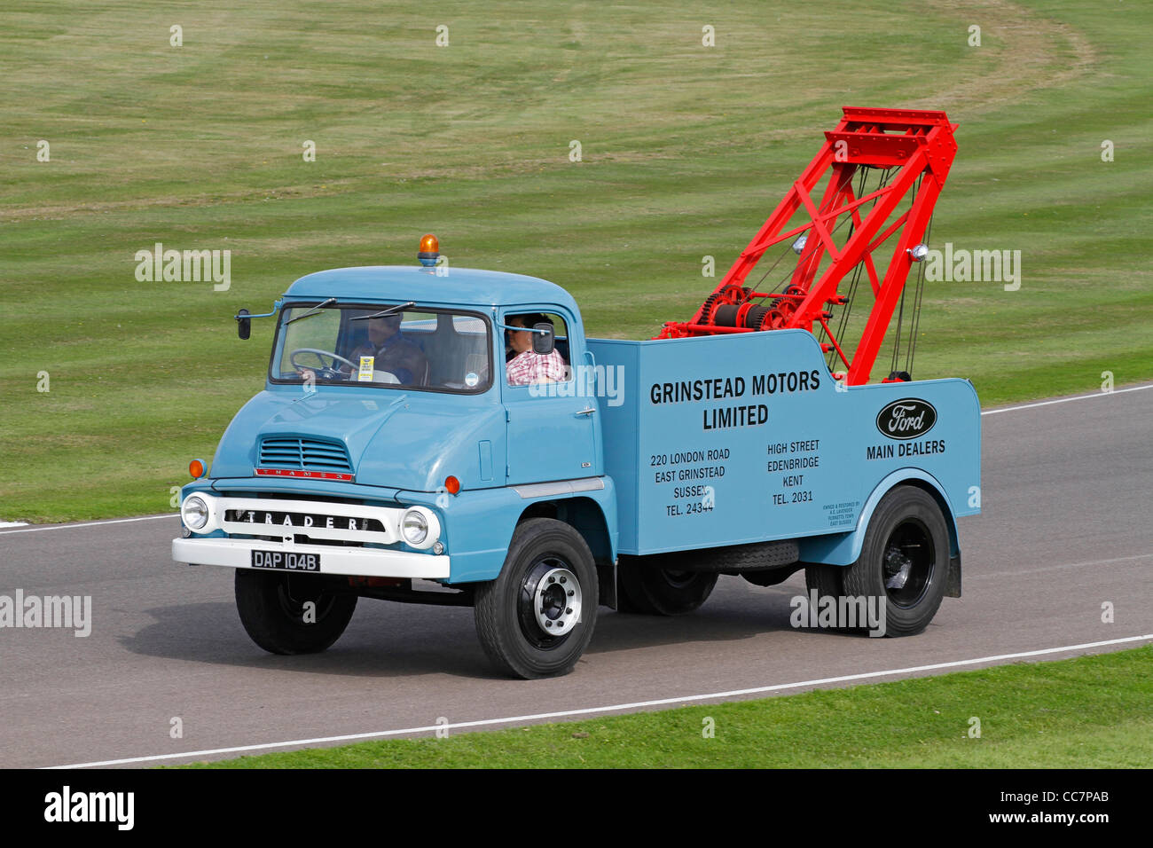 1964 Ford Thames Trader breakdown recovery truck at the 2011 Goodwood Revival, Sussex, UK. - Stock Image