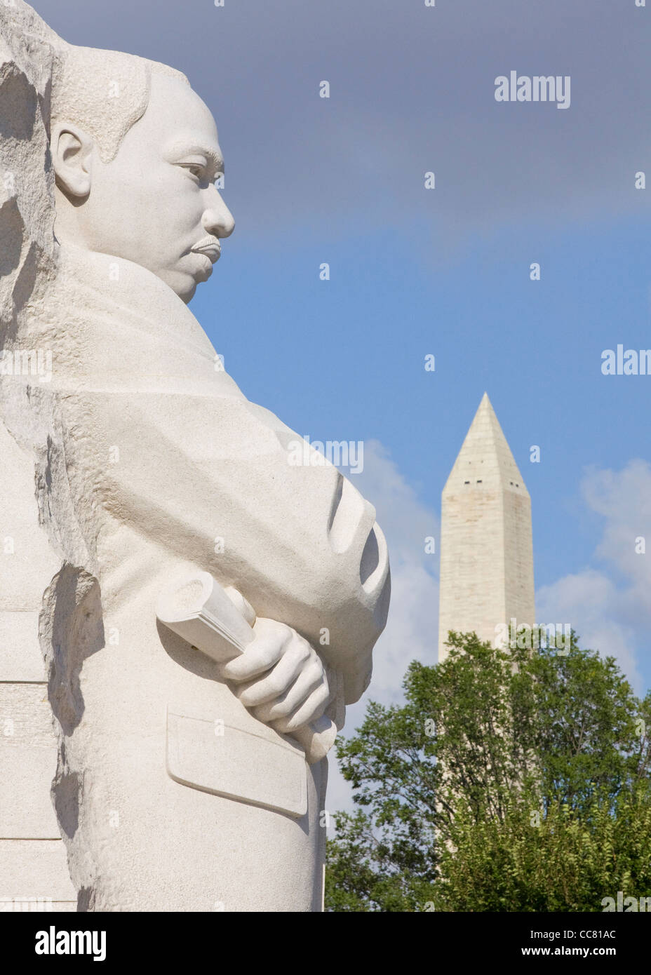 Martin Luther King Jr. memorial - Stock Image