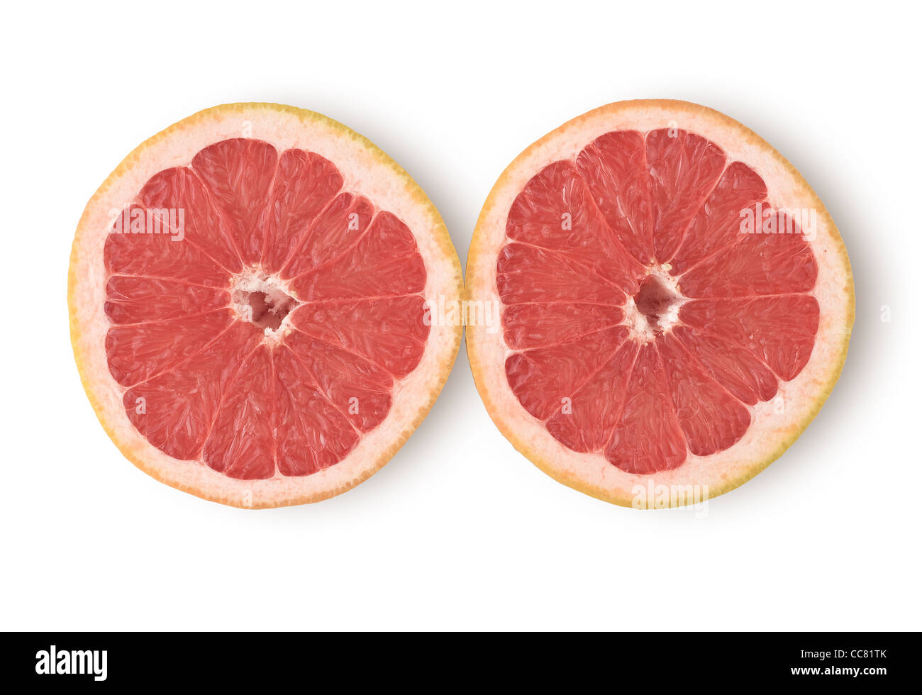 Grapefruit as Healthy and Nutritious Dietary Supplement - Stock Image