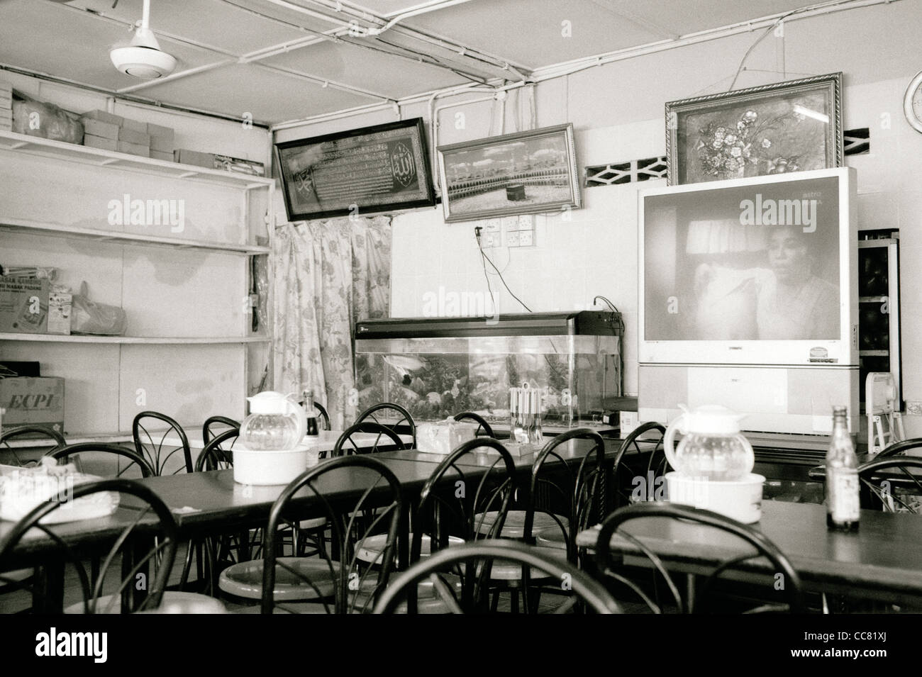 Documentary Travel Photography A Cafe Restaurant In Kampung Baru In Stock Photo Alamy