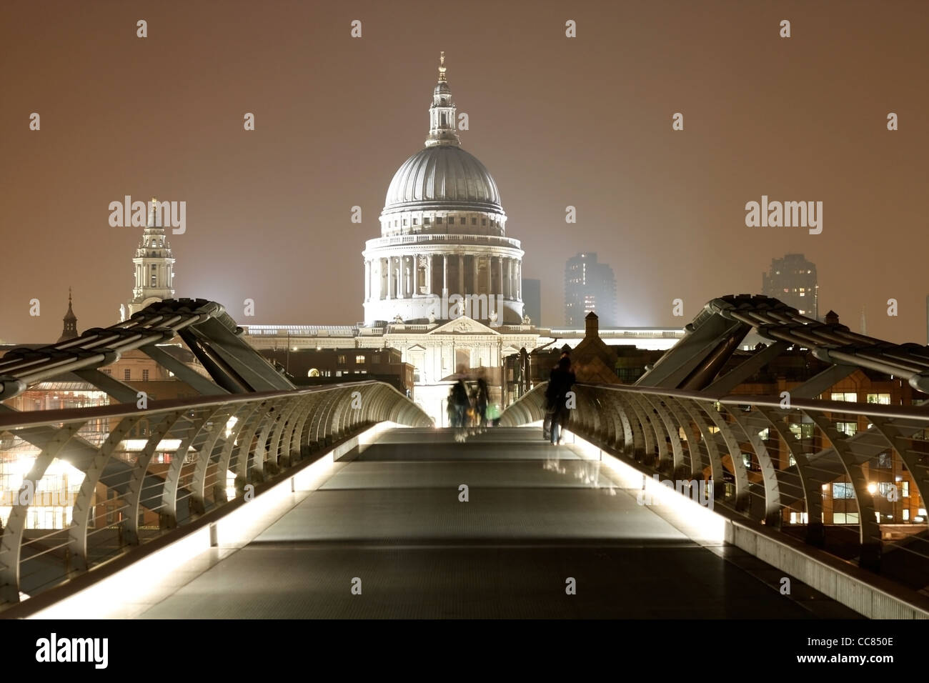 St. Paul's Cathedral in London Stock Photo