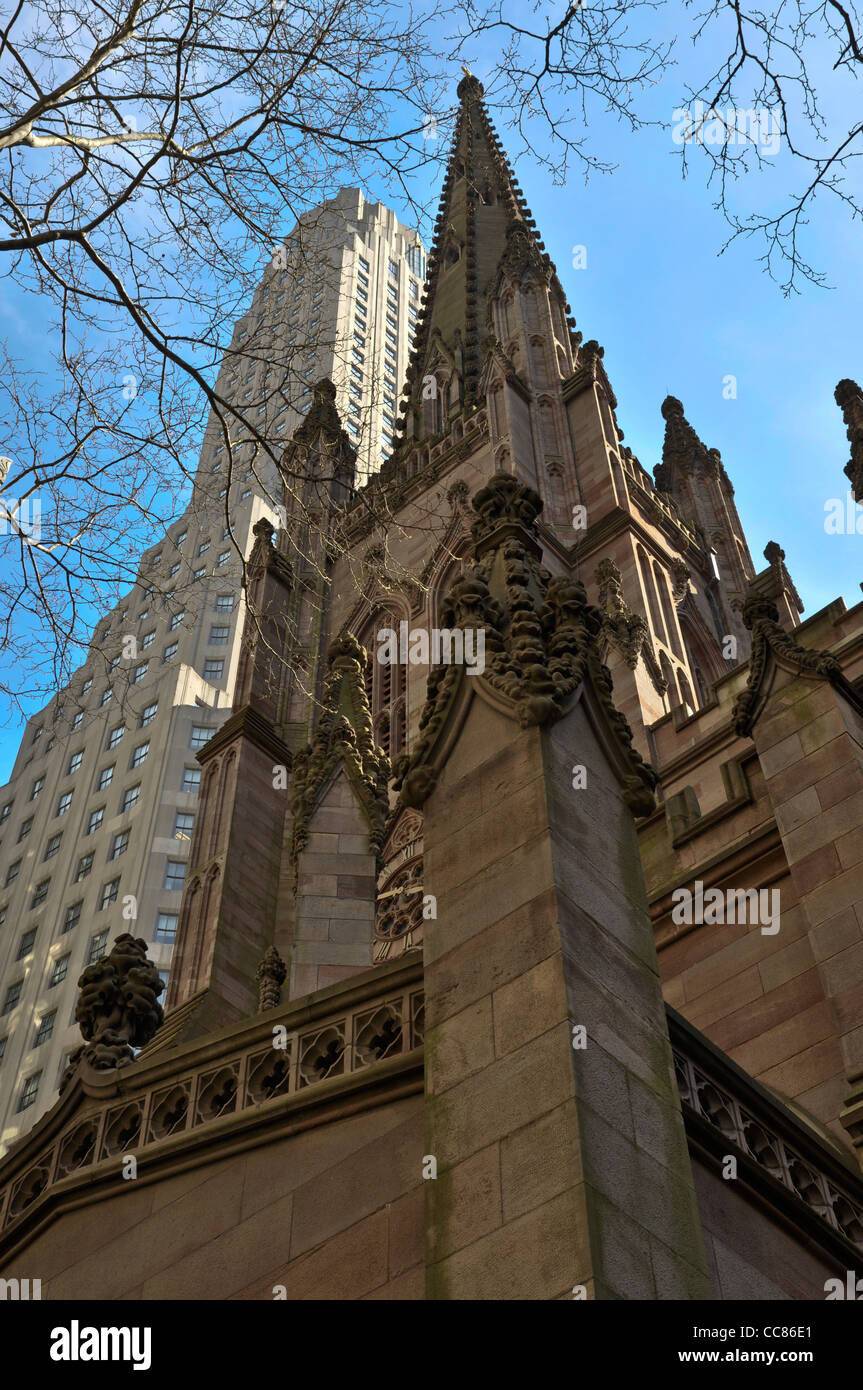 trinity church nyc stock photo 41977321 alamy