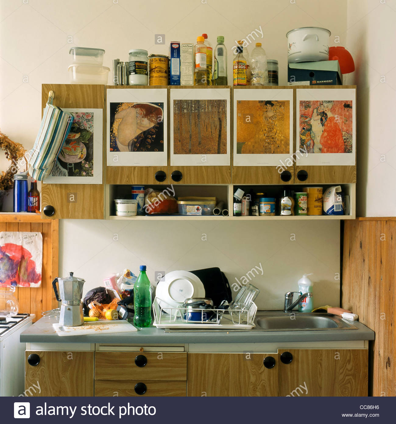 Messy Kitchen Counter: Messy Room Mess Stock Photos & Messy Room Mess Stock