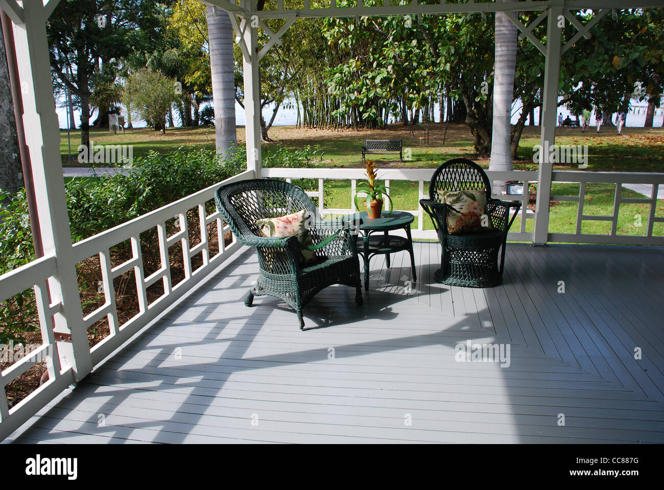 Edison and Ford Winter Estates, Ft. Myers, Florida - Stock Image