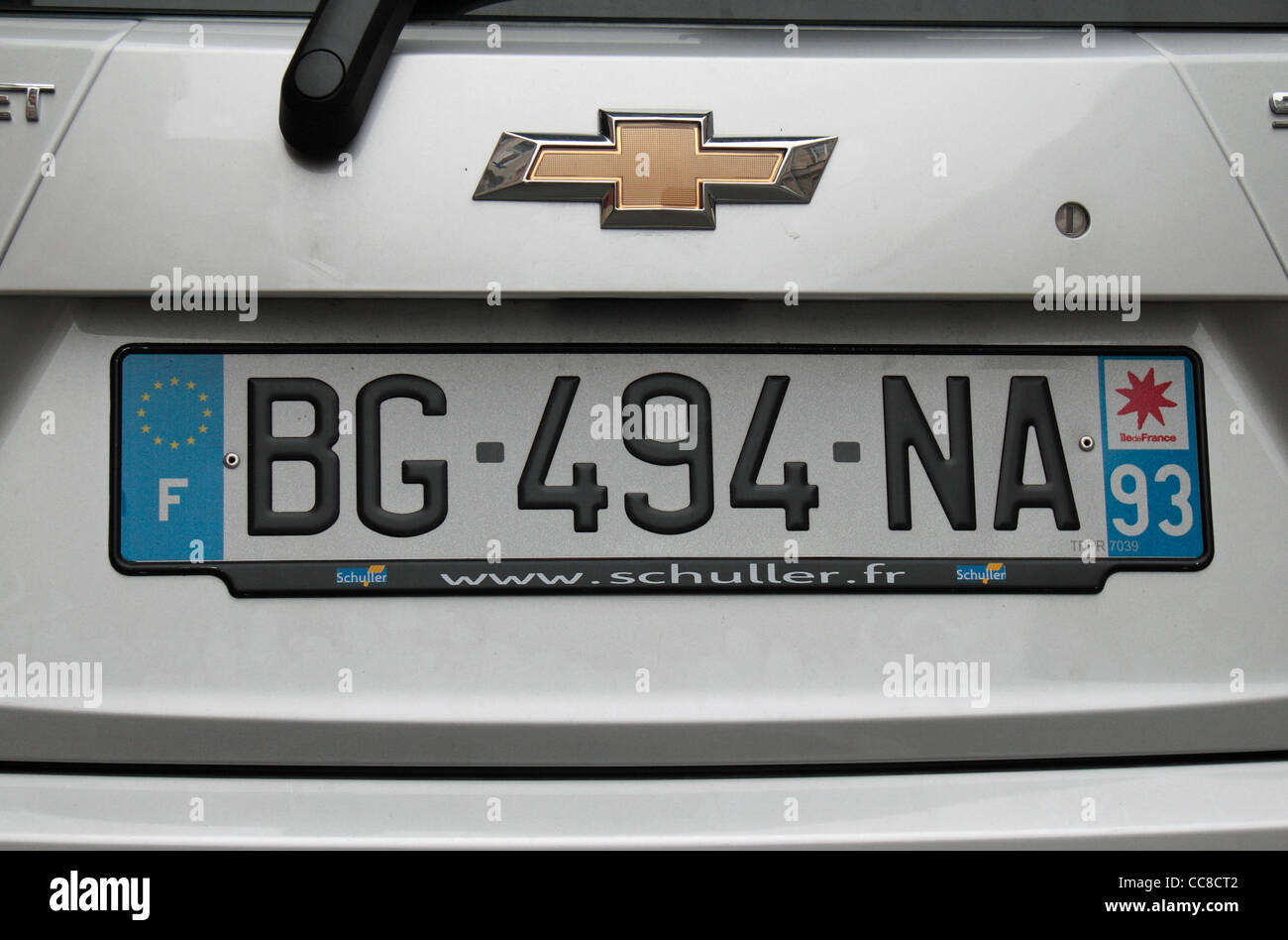 French Number Plate Stock Photos & French Number Plate Stock Images ...