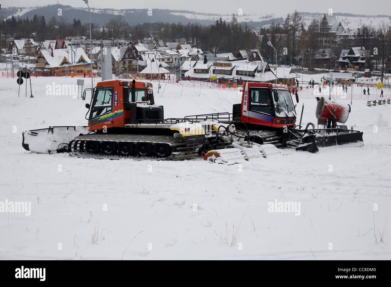 snowplow - Stock Image