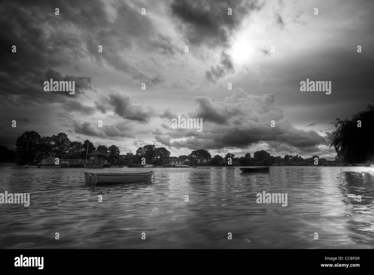 Strand-on-the-Green, Chiswick - Stock Image
